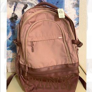 Vs Pink Rose Gold Collegiate Backpack